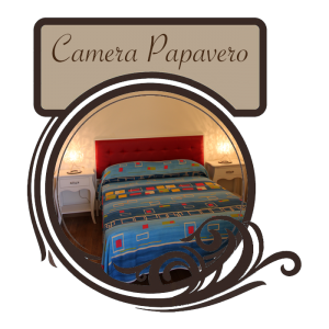 Camera Papavero - Affittacamere Bed and Breakfast Da Nonna Elisa a Roseto Valfortore